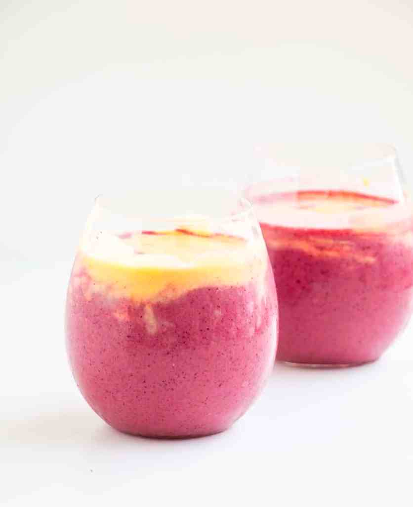 Mango Berry Smoothie -The perfect health kick that tastes absolutely delicious