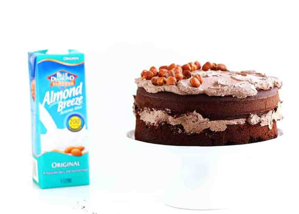 Moist Gluten Free Chocolate Cake with Avocado Frosting