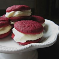 All-Natural Red Velvet Whoopie Pies
