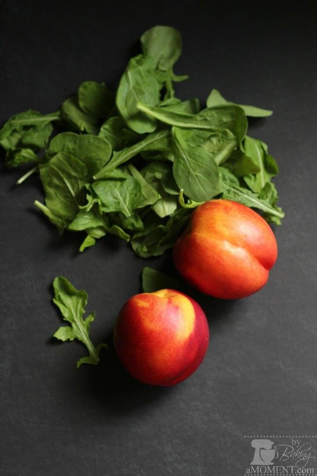 Nectarines & Arugula