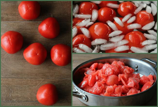 Peeling Tomatoes