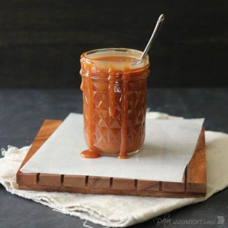 Simply Perfect Salted Caramel Sauce | Baking a Moment