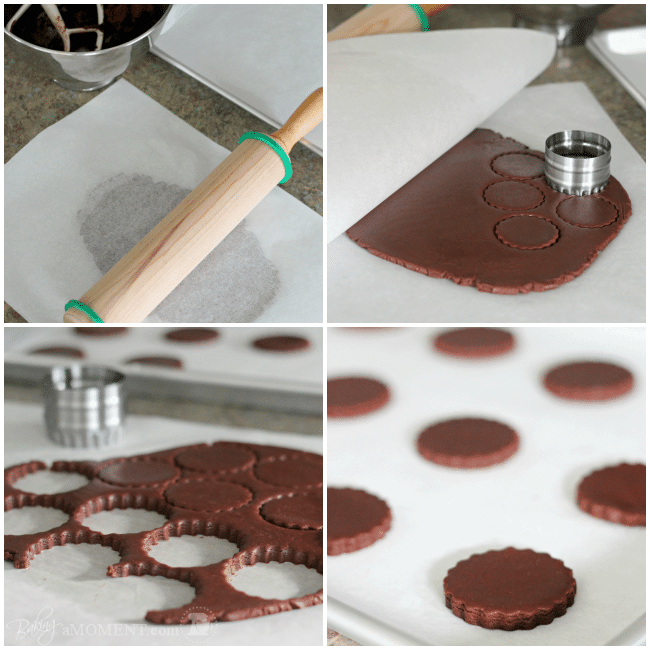 How to Make Chocolate Sugar Cookies | Baking a Moment