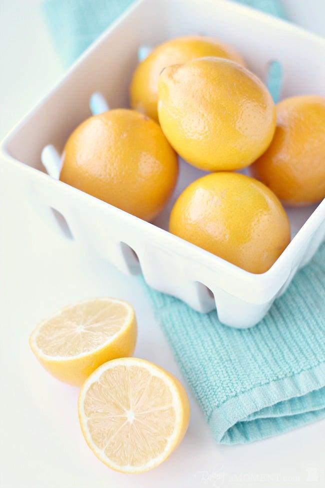 Meyer Lemons   Baking a Moment
