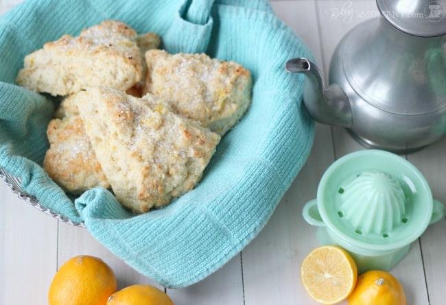 Meyer Lemon Mascarpone Scones   Baking a Moment
