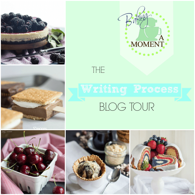 Baking a Moment: The Writing Process