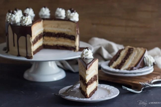 Salted Caramel Heaven Hell Cake Recipe