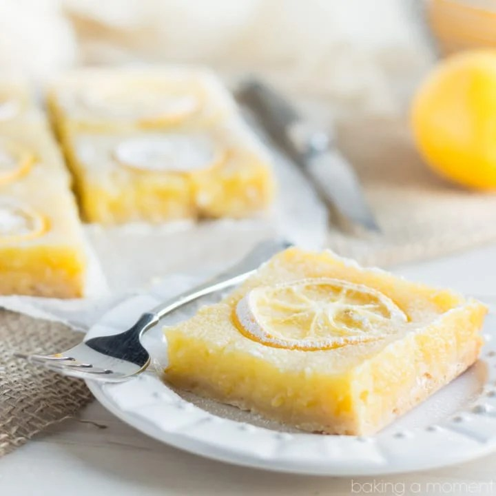 Shaker Lemon Ginger Pie Bars