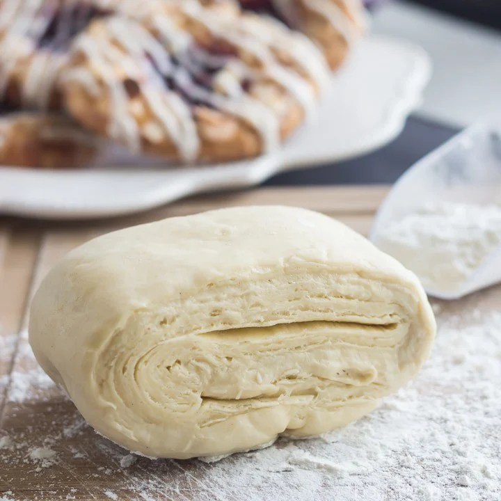 How to Make Homemade Danish Pastry- easy to follow video and recipe on Baking a Moment