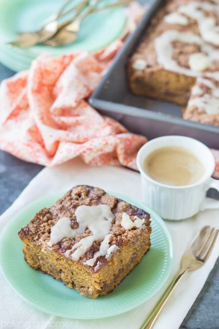Buttered Rum & Candied Sweet Potato Crumb Cake #grandbabycakesbook