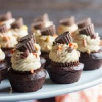 Peanut Butter Cheesecake Brownie Bites