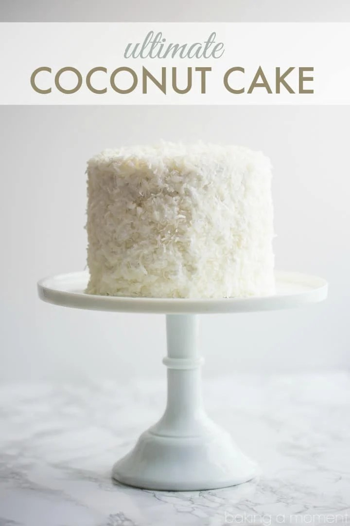 Best Coconut Cake Ever So Much Flavor In Every Component And It S Completely
