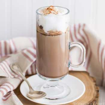 How to Make a Chile Mocha Latte at Home- this tastes exactly like the Starbuck's version!