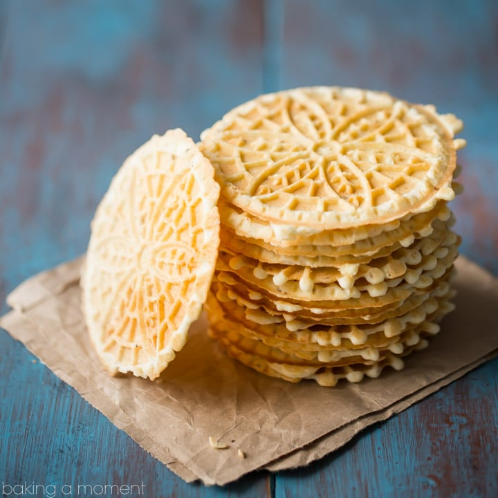 Thin and Crisp Pizzelles