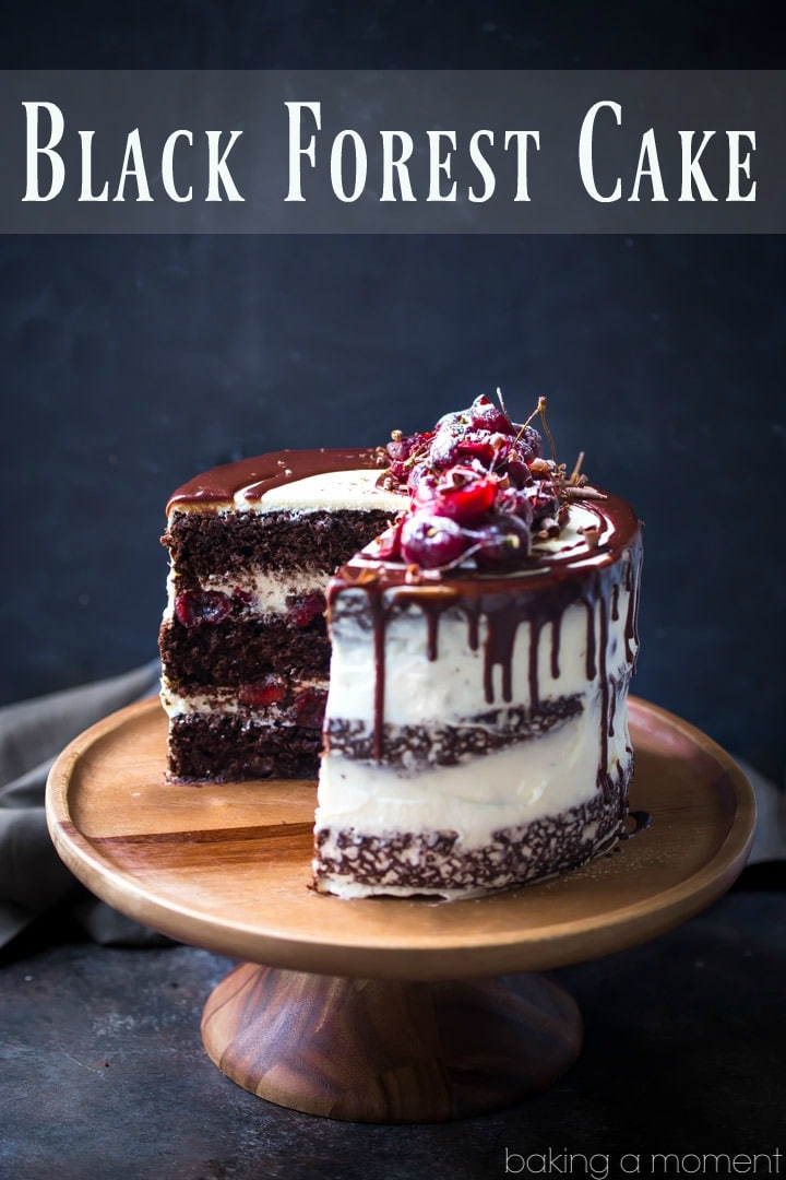 Chocolate cherry cake recipes sour cream