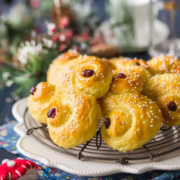 recipe: paska recipe with saffron [16]
