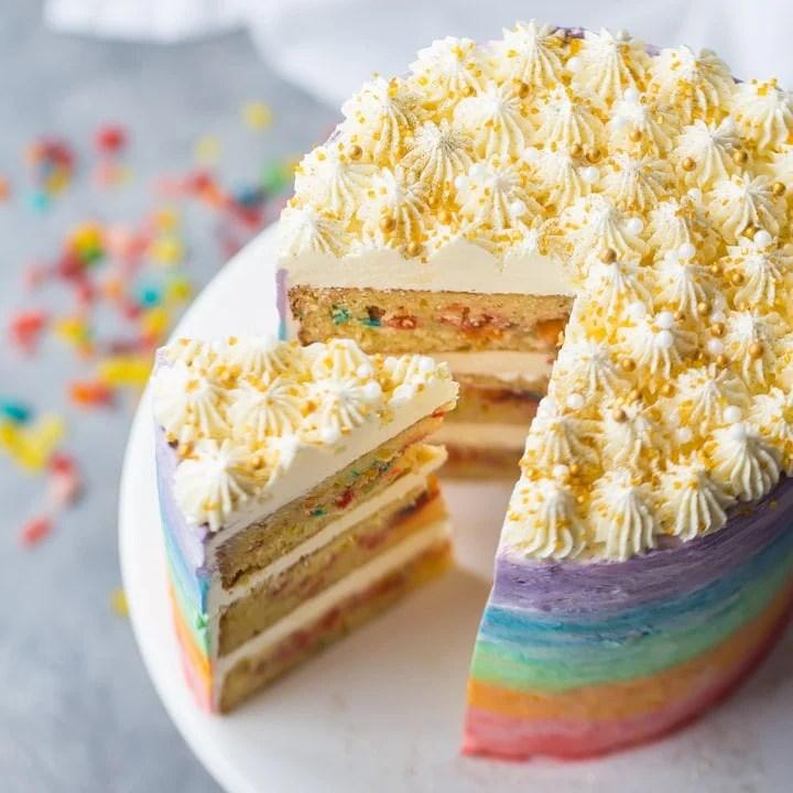 How To Make Gold Glitter Sugar Stick To Cake