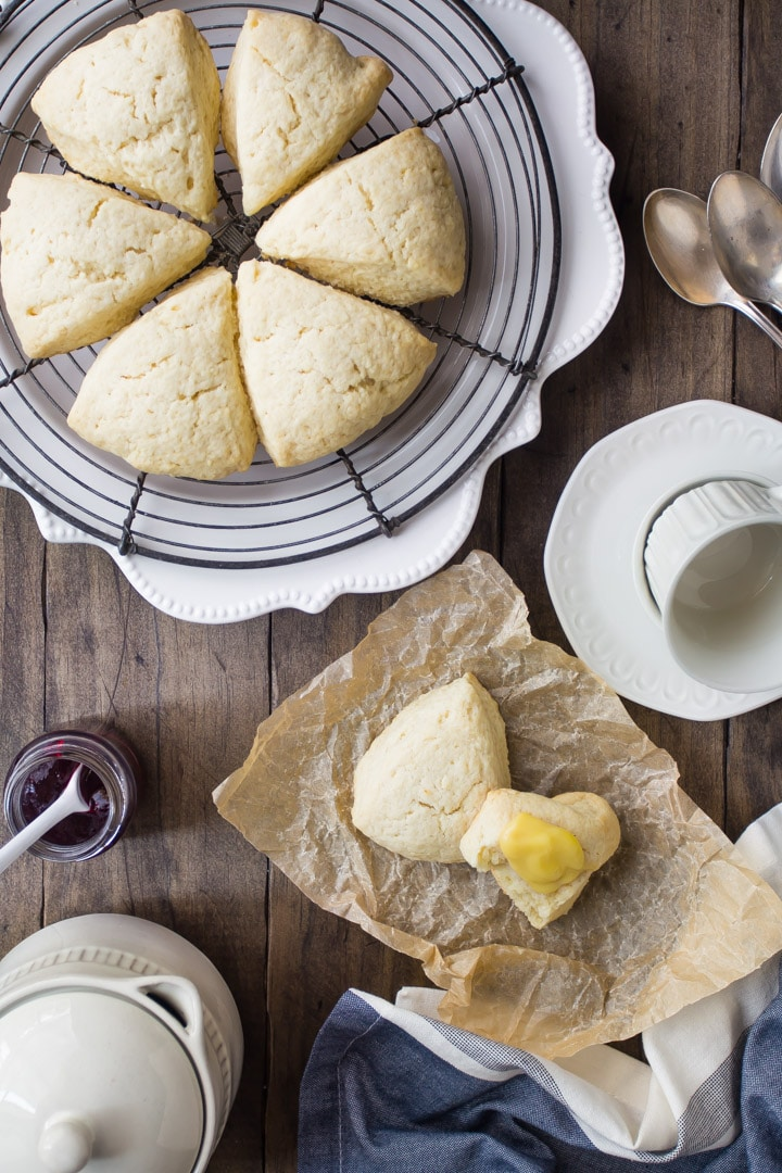 A basic plain scone recipe that can be adapted in so many ways.