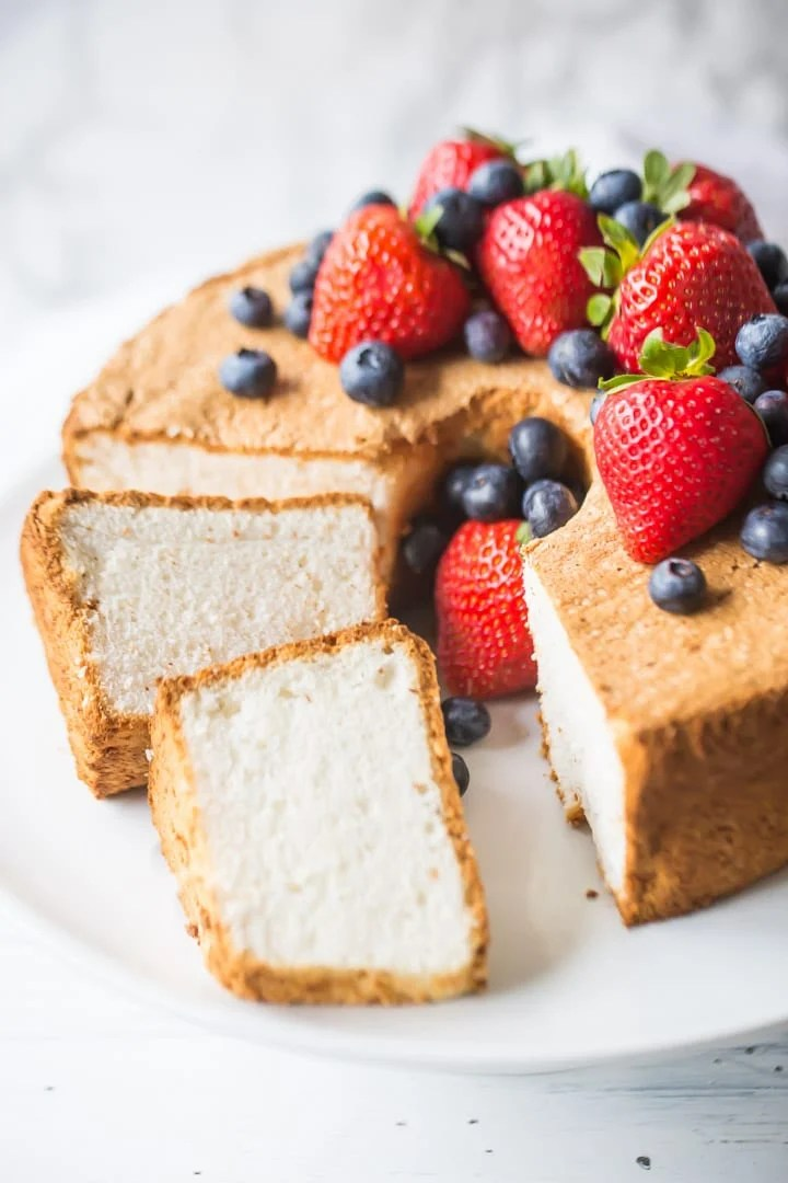 Angel food cake like a sweet cloud baking a moment simple angel food cake recipe homemade from scratch forumfinder Choice Image