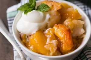 Best Peach Cobbler Recipe