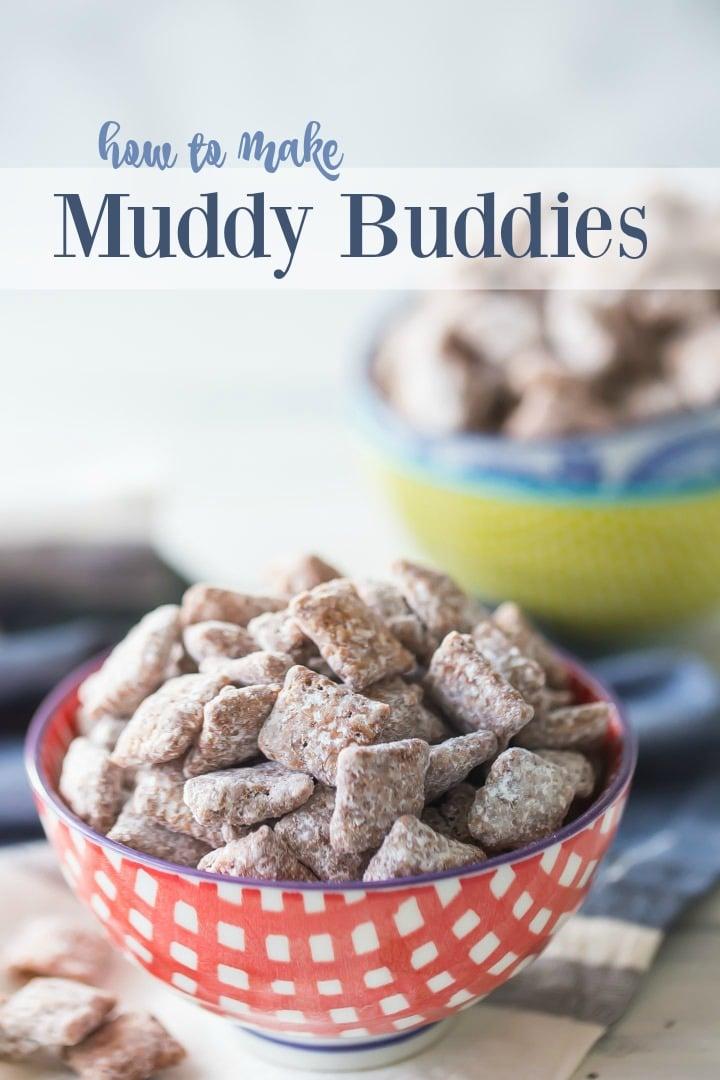 How to Make Muddy Buddies Puppy Chow