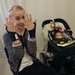 ont i kroppen småbarnsförälder