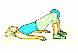 övningar för kvinnliga löpare