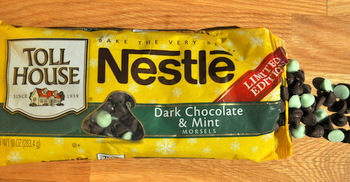 Nestle Tollhouse Dark Chocolate Mint Morsels Reviewed