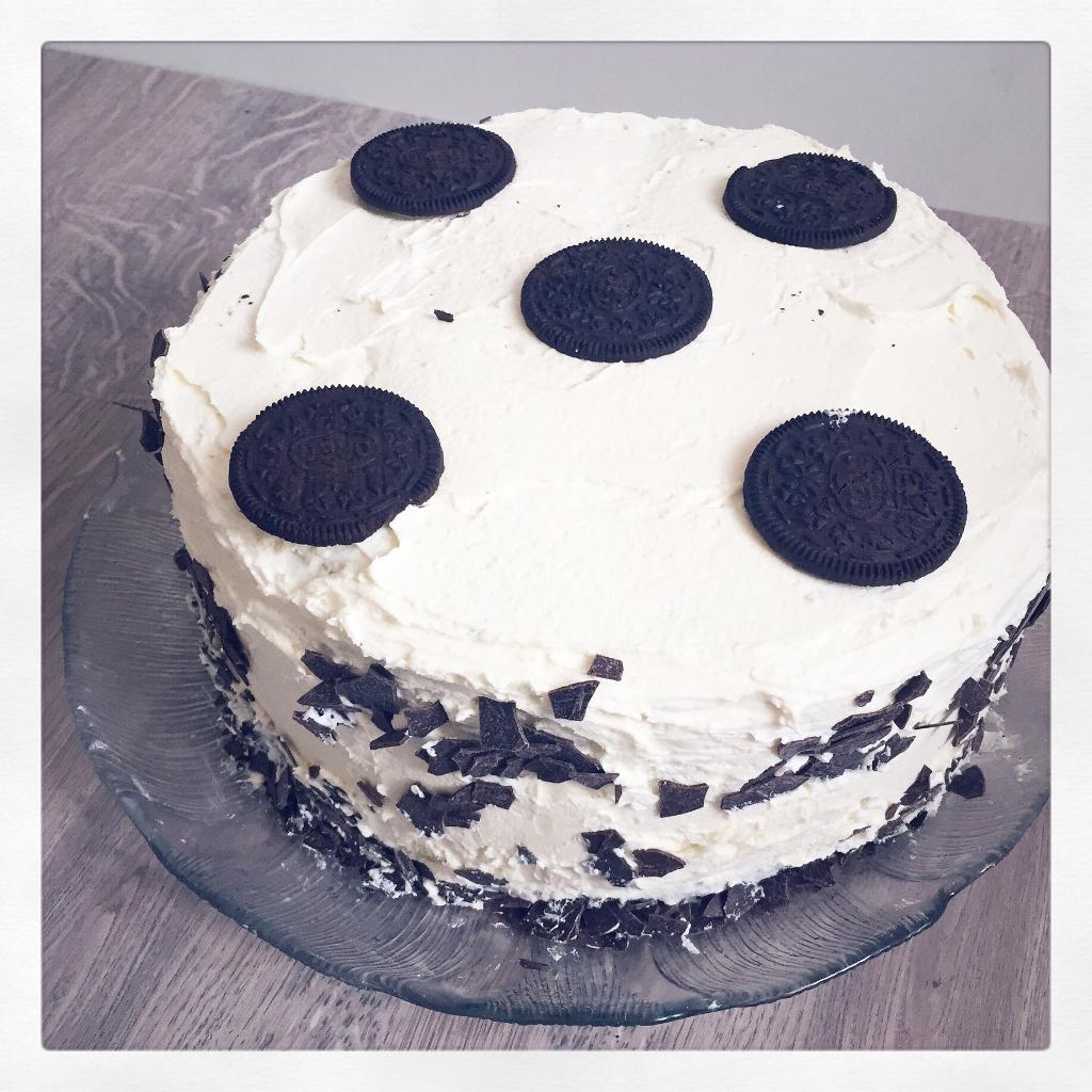 Birthday Oreo Cheesecake
