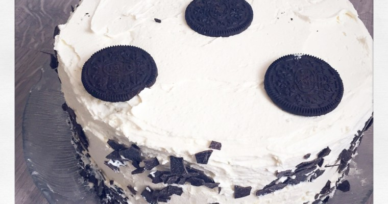 Birthday Oreo Cheesecake