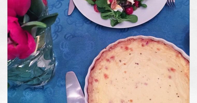 Quiche Lorraine – Lothringer Speckkuchen