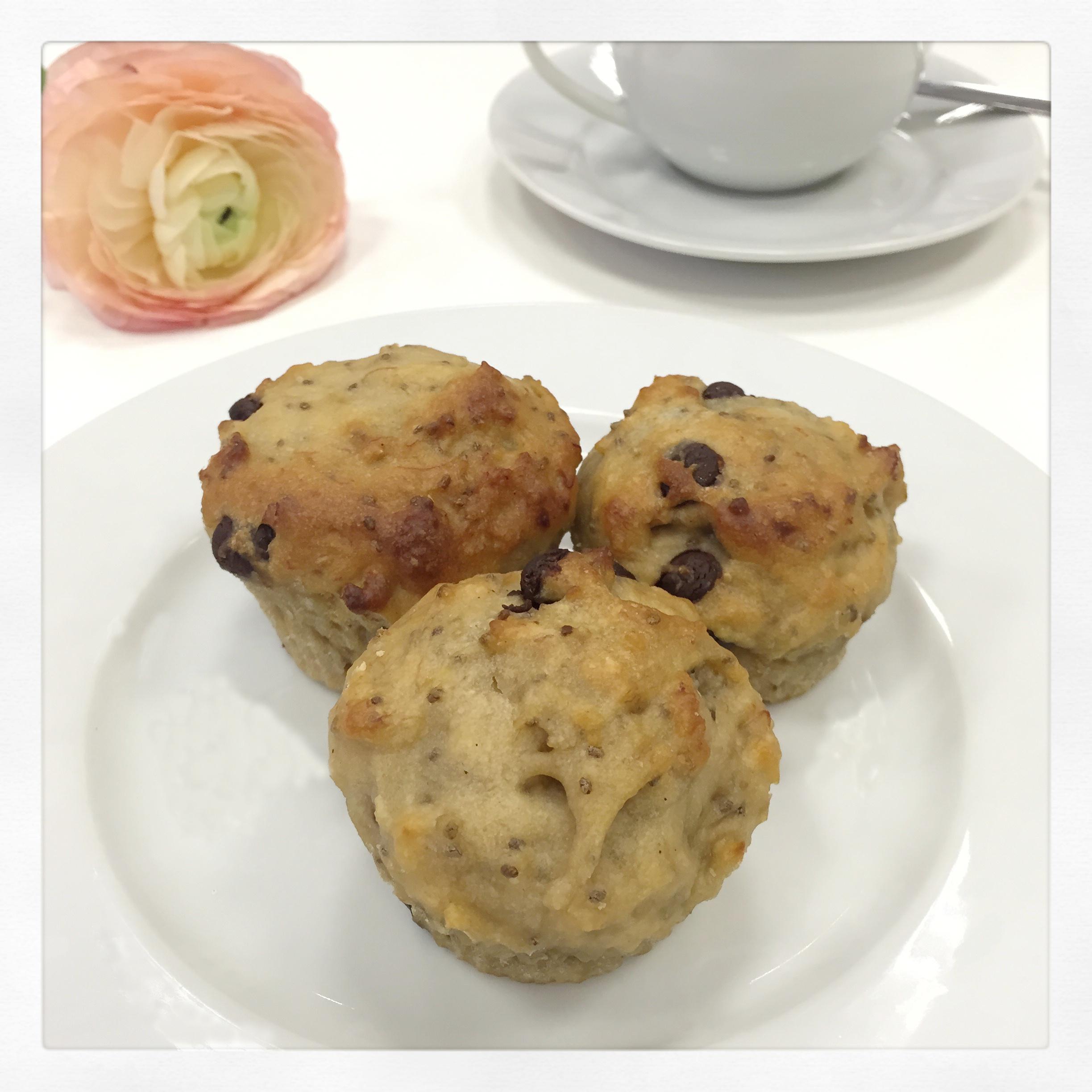 Vegane Banana Bread Muffins