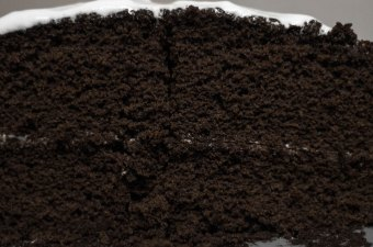 Double Mountain Chocolate Cake