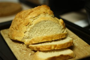 tangerine wheat beer bread