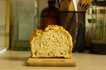 Mana Wheat Stuffing Beer Bread
