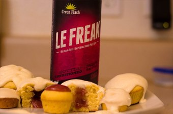 Le Freak Strawberry Pubcakes