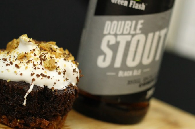 double stout smore cupcakes