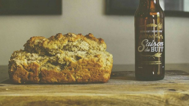 saison du buff beer bread