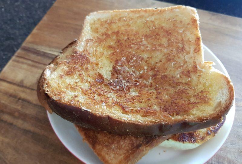 parmesan toast