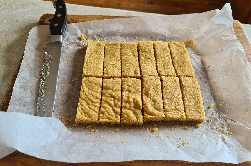 My take on Arnotts Scotch finger short bread