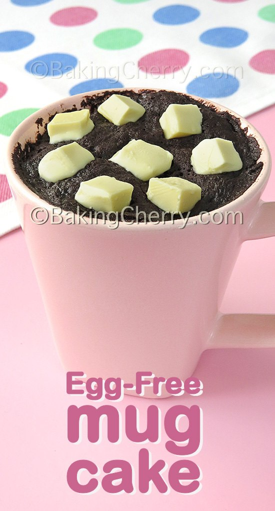 Egg-Free Microwave Chocolate Mug Cake in 1 Minute - Baking ...