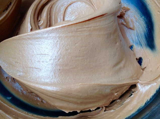 A smooth, rich chocolate buttercream