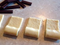 step 2: partially roll up