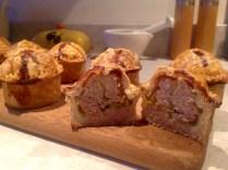 Pork & piccalilli pies