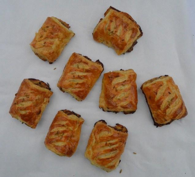 chorizo & fennel seed sausage rolls