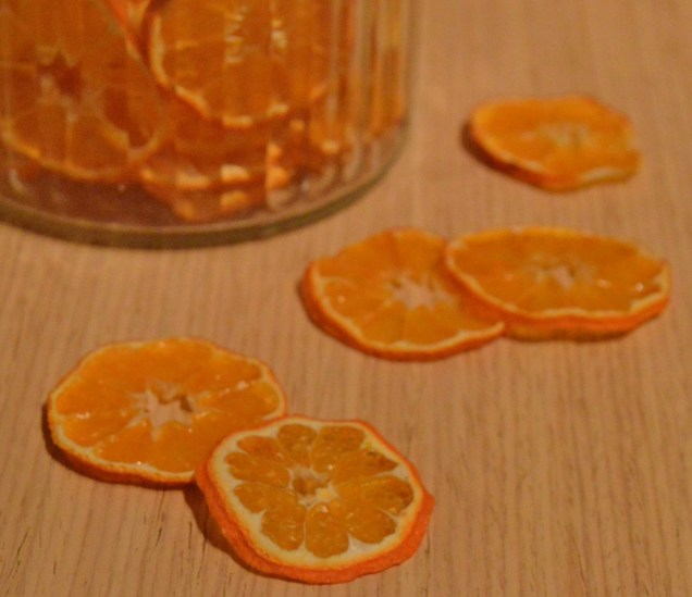 dehydrated clementines