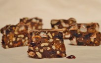Salted caramel pretzel rocky road