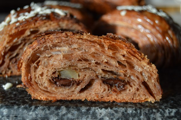 Chocolate & ginger viennoiserie