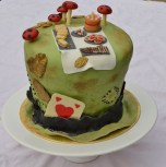 Mad Hatter's Tea Party Cake