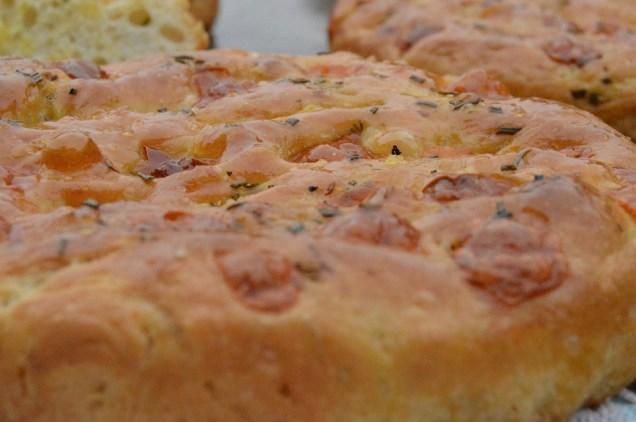 smoked mozzarella & rosemary focaccia